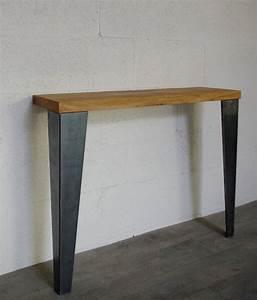 Pieds De Table : pieds de table de repas style industriel 72cm ref vest72 pyeta ~ Teatrodelosmanantiales.com Idées de Décoration