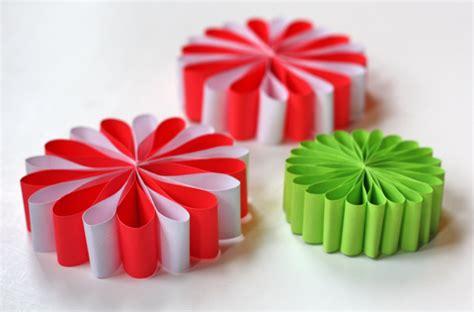 diy paper christmas ornaments madame bonbon madame bonbon shares unique and stylish party