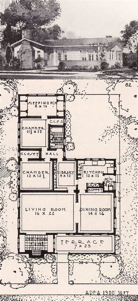 ideal house plans california bungalow style house 1916 ideal homes in