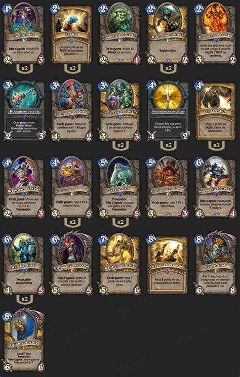 deck paladin contr 244 le tgt hearthstone heroes of