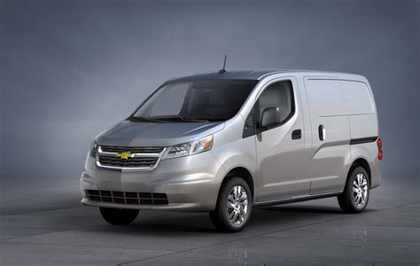 Nissan Nv200 Puts On A Bowtie As New Chevy City Express
