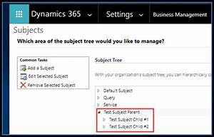 How to Identify D365 Processes that Reference a Subject ...