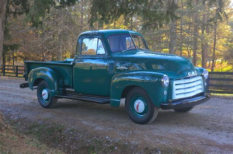 All American Classic Cars 1952 Gmc 12 Ton Pickup Truck