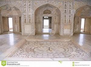 White Marble Palace, Agra Fort, India Stock Photo - Image ...