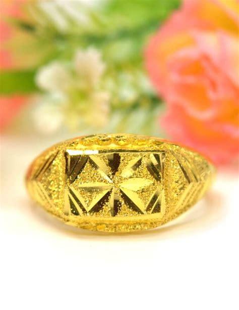 แหวน ทอง 1 กรัม ลาย โปร่งเพชร ตัดลาย ทองคำแท้ - ห้างทองพรทวี