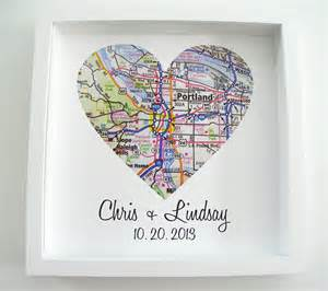 personalized wedding gifts for wedding gift map framed print by definedesign11 on etsy