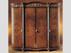 Honey Walnut 4Door Wardrobe Armoire eBay