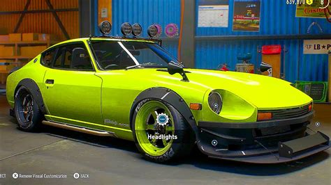 speed payback cars customization gameplay