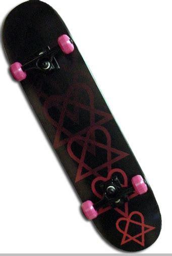 Bamhim Heartagram Complete Skateboard