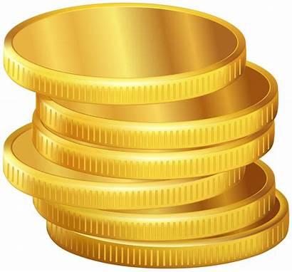 Coins Coin Clipart Golden Gold Transparent Hanukkah
