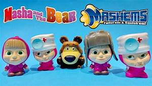 Toys Toys Toys : masha and the bear toys mashems series 1 super squishy toys video 2015 ~ Orissabook.com Haus und Dekorationen