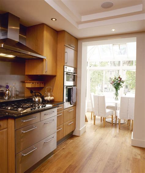 kitchens with honey oak cabinets eclectic modern kitchen with honey oak cabinets go haus 8792