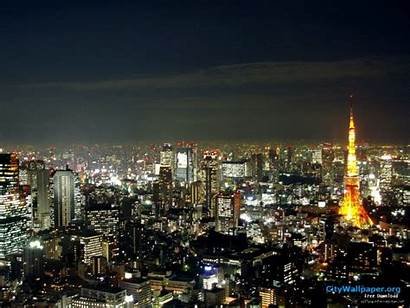 Tokyo Landscape Tower Japan Cities Wallpapers