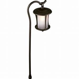 shop portfolio landscape bronze low voltage path light at With low voltage outdoor lighting vancouver