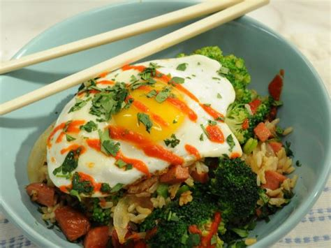 hot dog fried rice recipe katie lee food network
