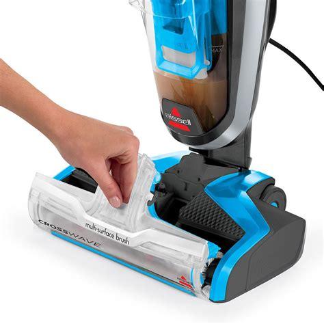 Bissell Floor Cleaner Crosswave by Bissell Crosswave Floor Cleaner Vacuum And Wash
