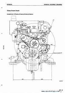 Komatsu Diesel Engine 108