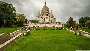 Sacre Coeur Basilica  Paris  France 4k Hd Desktop