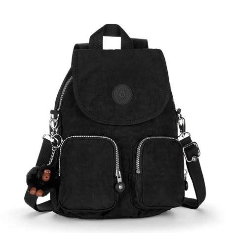 kipling firefly up black backpack shoulder bag
