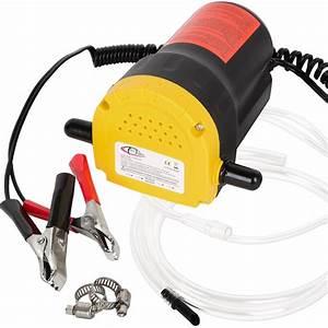 Pompe A Huile Electrique : pompe l ctrique vidange extraction huile diesel aspiration kit auto 12v 60w ebay ~ Gottalentnigeria.com Avis de Voitures