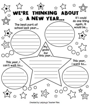 """Search Results For """"new Year Resolution Writing Worksheets""""  Calendar 2015"""