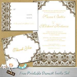 free wedding invitation sles formal wedding invitations free printable wedding invitations