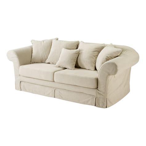 canapé 2 places en tissu canapé 2 5 places tissu crême coventgarden mooviin
