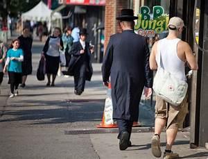 Dressing New York : hasidic jews in heavy dress bear up in summer the new york times ~ Dallasstarsshop.com Idées de Décoration