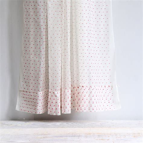 Dotted Swiss Kitchen Curtains by Vintage Sheer Swiss Dot Curtain Panel Dots Curtain
