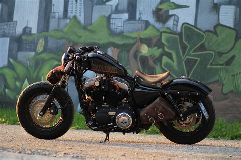 Harley Davidson Sportster 48 Bobber Part Ii