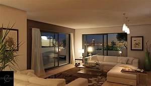 salle a manger 9m2 0 d233co salon 24m2 modern aatl With idee deco cuisine avec chaise salle a manger marron