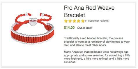 pro ana bracelets   bracelets   hurt sufferers