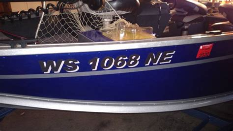 Boat Registration Numbers Wi by Picture From Travis R Wi Boatletteringtoyou