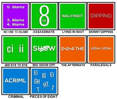 Dingbats level 18 (dodo list) answer; 100 Pics Dingbats Level 81-90 Answers | 100 Pics Answers
