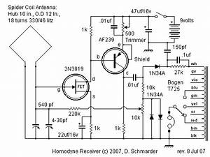 dave39s homodyne regen radio page With circuit receiver