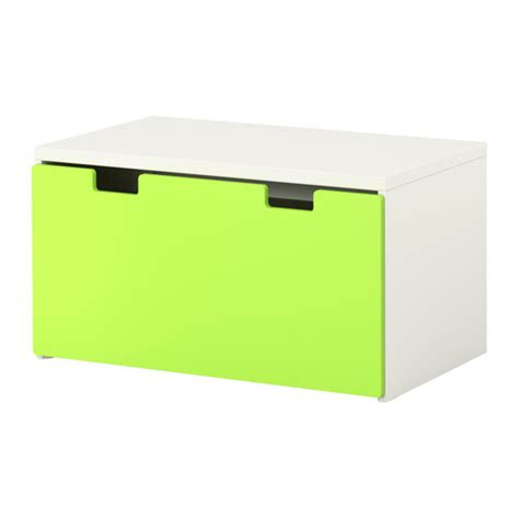 stuva storage bench white green ikea