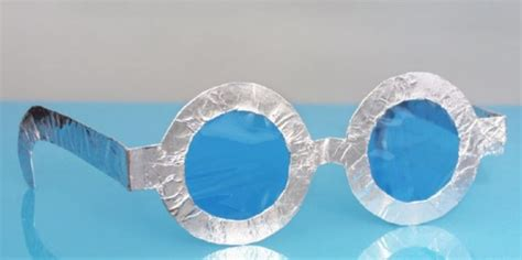easy  cut diy paper glasses craft ideas