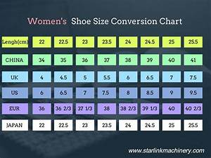 Shoe Size Conversion Chart Shoe Size Guide Starlink