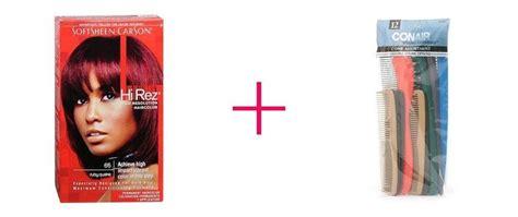 Hi Rez Permanent Haircolor Ruby Quake (2pc And Conair