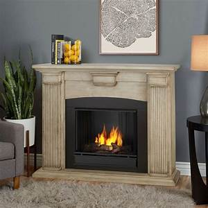 real flame adelaide 51 in ventless gel fireplace in dry With the many benefits of real flame electric fireplace