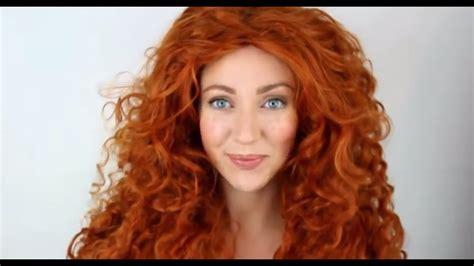 Brave Merida MakeUp Tutorial Transformation - YouTube