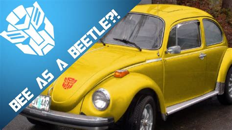 volkswagen bumblebee bumblebee as a vw beetle tf6 news youtube