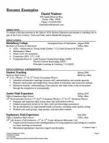 resume templates for substitute substitute resume exle resumes design