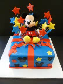 Mickey Mouse Birthday Cake Ideas
