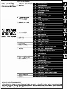 Nissan Xterra Model N50 Series 2006 Service Manual