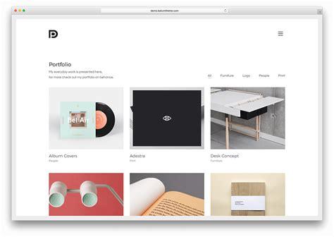 Minimalist Themes 49 Best Minimalist Themes For Creatives 2019