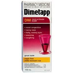 Dimetapp DM - patient information, description, dosage and directions. Brompheniramine