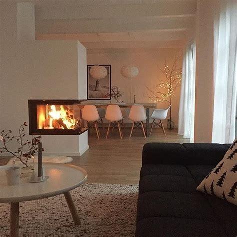 Modernes Wohnzimmer Mit Kamin by Die Besten 25 Kaminofen Ideen Auf Ofen