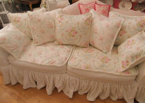 Shabby Chic Sofa Slipcover Shabby Chic Slipcovers For
