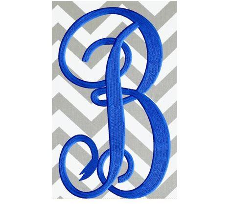 bundle xlg     tall scripty monogram font embroidery desig stitchelf
